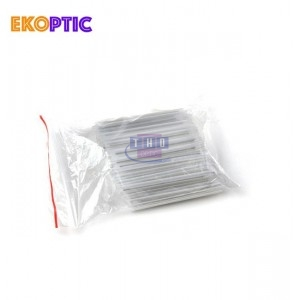 Lot de 10 boites de 1000 smooves Ø 2,4 mm longueur 45 mm transparents