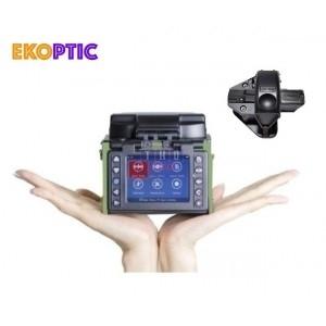 Kit mini soudeuse fibre optique EKOPTIC S-20 avec cliveuse Sumitomo FC-5S