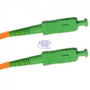 Jarretière simplex monomode G657A2 1,6mm orange SC/APC-SC/APC