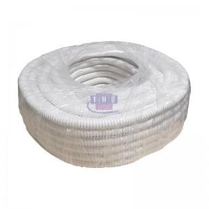 Rouleau de gaine fendue blanche PVC