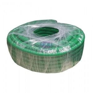 Rouleau de gaine fendue verte PVC