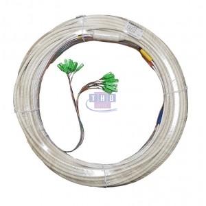 Câble colonne montante 50 m modulo 4 préconnectorisé à 50%