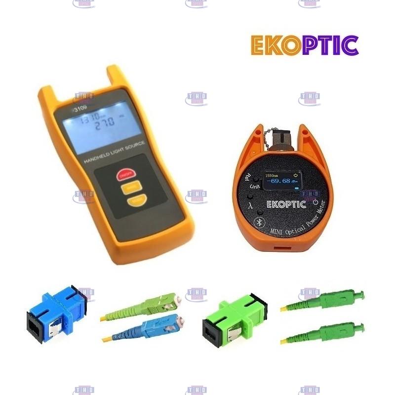 Kit Source-Photomètre monomode 1310/1550 nm EKOPTIC SLPM-30