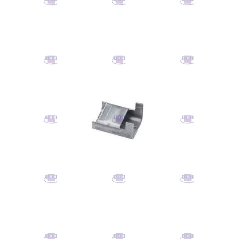 Sachet de 100 boucles inox 10 mm