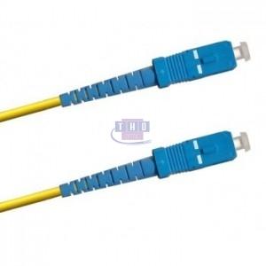 Jarretière simplex  G652D OS2 jaune SC/UPC-SC/UPC