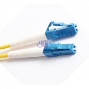 Jarretière simplex  G652D OS2 jaune LC/UPC-LC/UPC