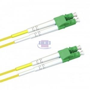 Jarretière duplex  G652D OS2 2 mm jaune LC/APC-LC/APC