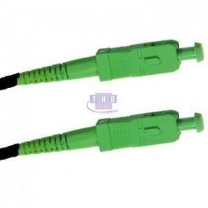 Jarretière simplex monomode G657A2 1,6 mm noire SC/APC-SC/APC