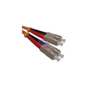 Jarretière duplex Multimode OM1 SC/PC-SC/PC