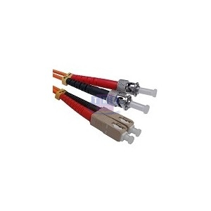 Jarretière duplex Multimode OM1 SC/PC-ST/PC