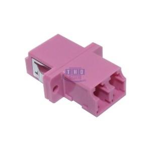 Raccord duplex multimode violet LC/PC