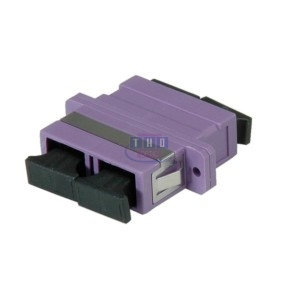 Raccord duplex multimode violet SC/PC
