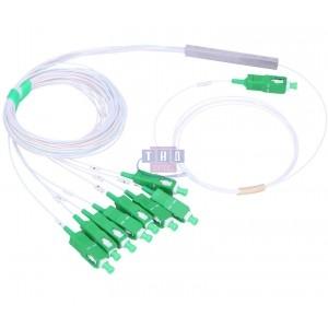 Coupleur PLC G657A2 900 µm connectorisé SC/APC