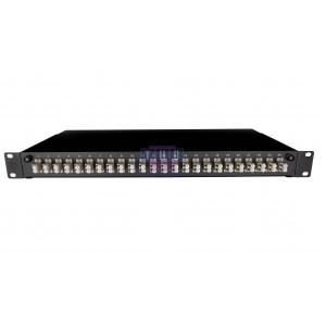"Tiroir optique 19"" coulissant raccords LC/PC duplex multimode"