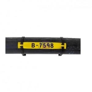 Repère B-7598 jaune 79 x 20 mm