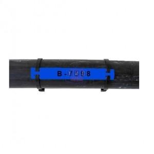Etiquette B-7598 bleue 79 x 20 mm